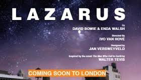 Coming soon : David Bowie's Lazarus at the King's Cross Theatre