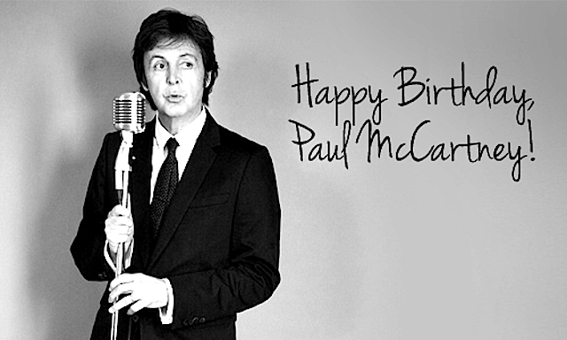 HAPPY 74 SIR PAUL MCCARTNEY