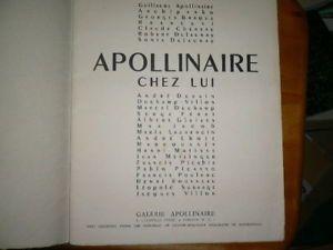 L'APPARTEMENT DE GUILLAUME APOLLINAIRE 202 BD ST  GERMAIN