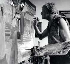 PAUL DELVAUX AT WORK