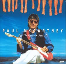 Paul McCartney Off The Groung Cover Shoot