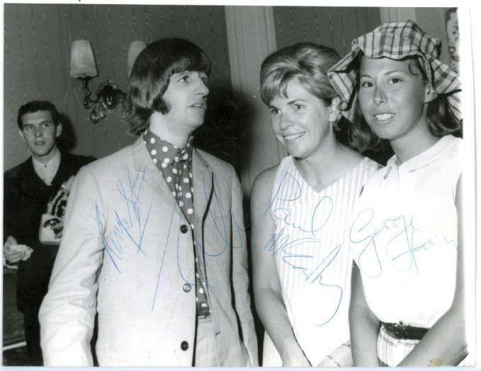 LES BEATLES A NICE LE 30 JUIN 1965