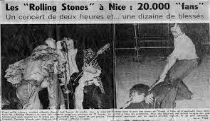 THE ROLLING STONES LIVE IN NICE