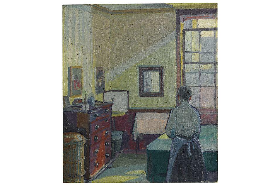 Harold Gilman, Interior (Mrs Mounter), 1917. Estimation : £150,000–250,000.