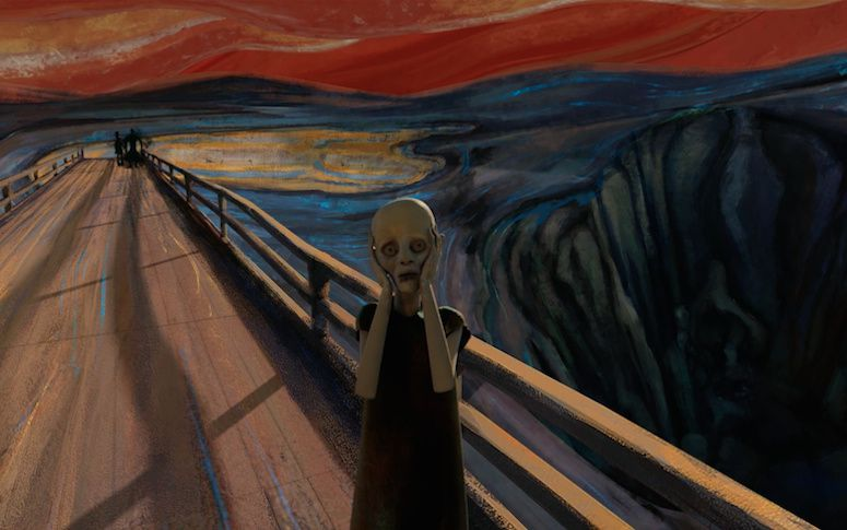 LE CRI DE MUNCH REVISITE