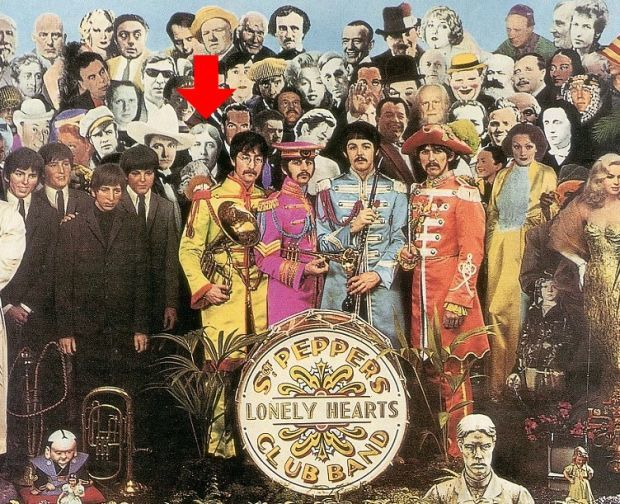 OSCAR WILDE SUR LA COUVERTURE DE SGT PEPPER DES BEATLES