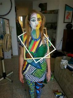 I AM A PICASSO FOR HALLOWEEN