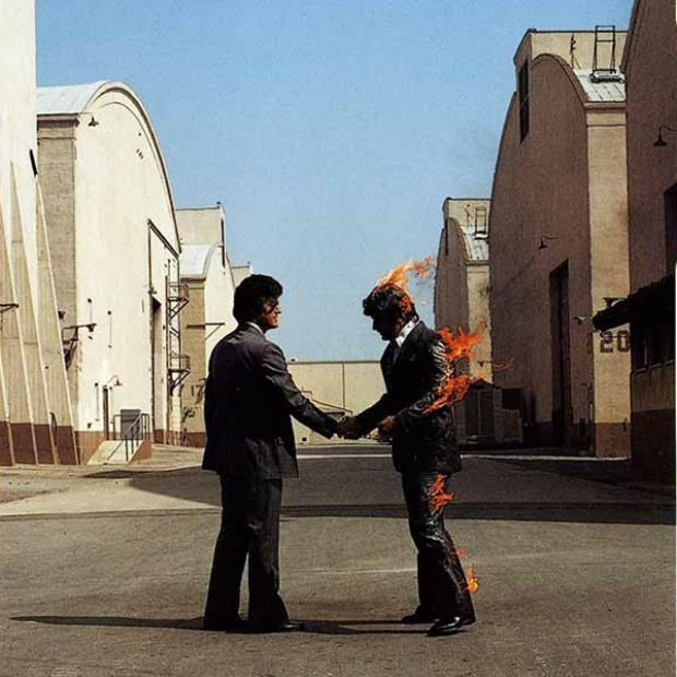 PINK FLOYD WISH YOU WERE HERE COVER OUTTAKES