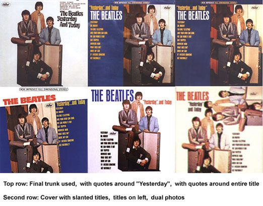 THE BEATLES YESTERDAY AND TODAY COVER OUTTAKES