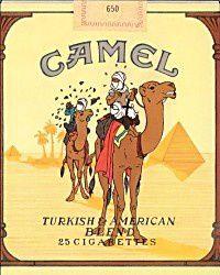CAMEL CIGARETTES PARODIES