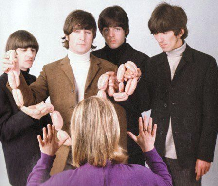 THE BEATLES BUTCHER COVER OUTTAKES