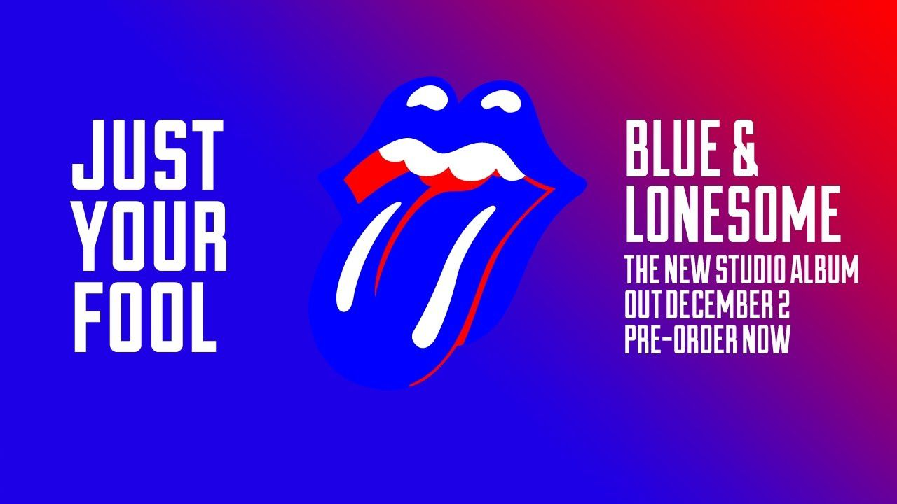 &quot&#x3B;BLUE AND LONESOME&quot&#x3B; THE ROLLING STONES OUT NOW !