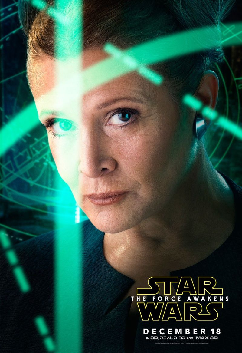 CARRIE FISHER DANS LES ETOILES (R.I.P)