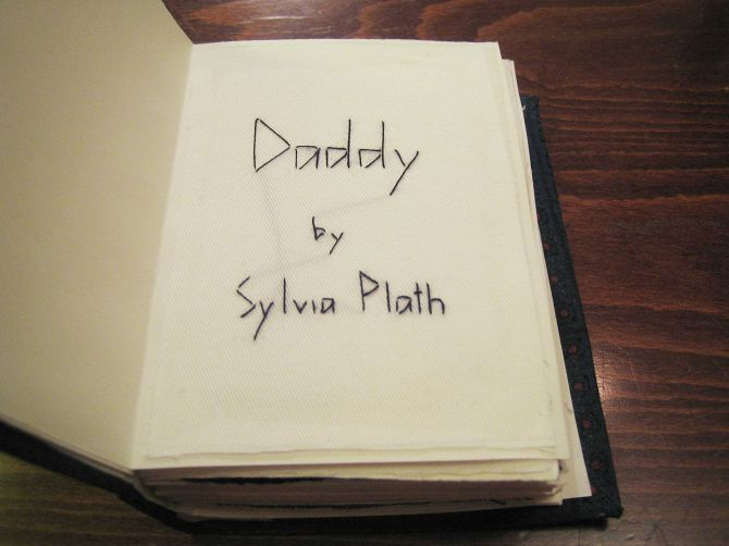 &quot&#x3B;DADDY&quot&#x3B; BY SYLVIA PLATH