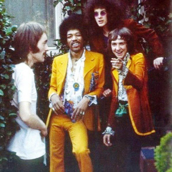 WITH JIMI HENDRIX
