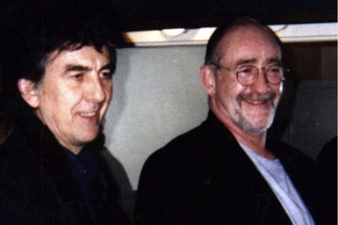 WITH GEORGE HARRISON