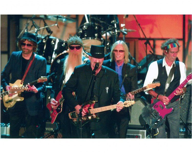 DAVE MASON, TOM PETTY, KEITH RICHARDS, BILLY GIBBONS