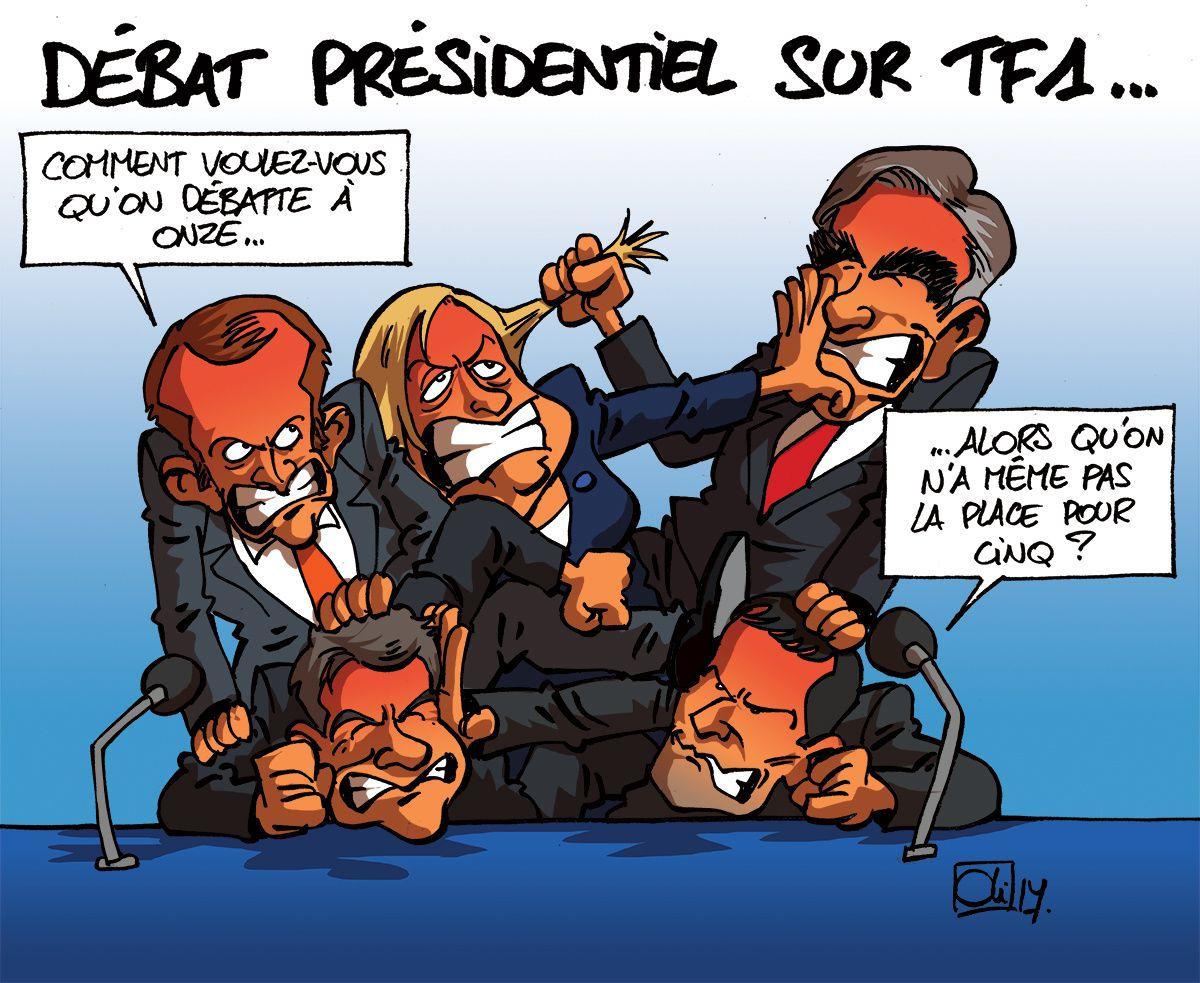 LES PRESIDENTIELLES FRANCAISES 2017 AVEC HUMOUR