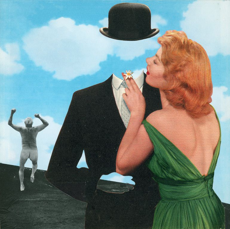 COLLAGES A LA MANIERE DE ....RENE MAGRITTE