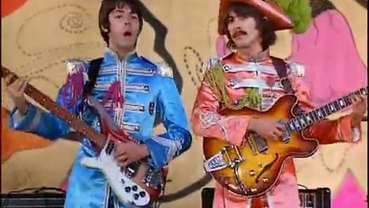 SGT PEPPER'S SUITS