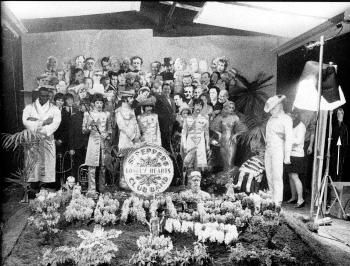 SGT PEPPER'S LONELY HEARTS CLUB BAND : WHERE'S ADOLF ?