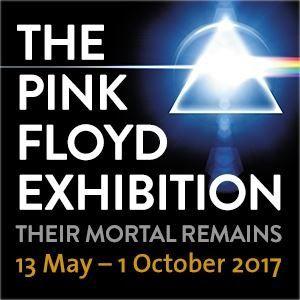 Exposition Pink Floyd: Their Mortal Remains au Victoria &amp&#x3B; Albert Museum de Londres jusqu'au 1er octorbre 2017