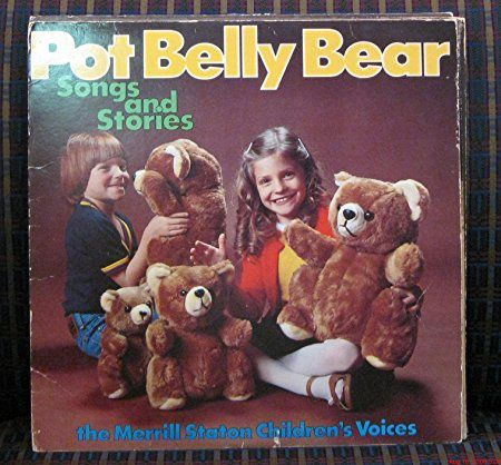 TEDDY BEAR RECORD COVERS