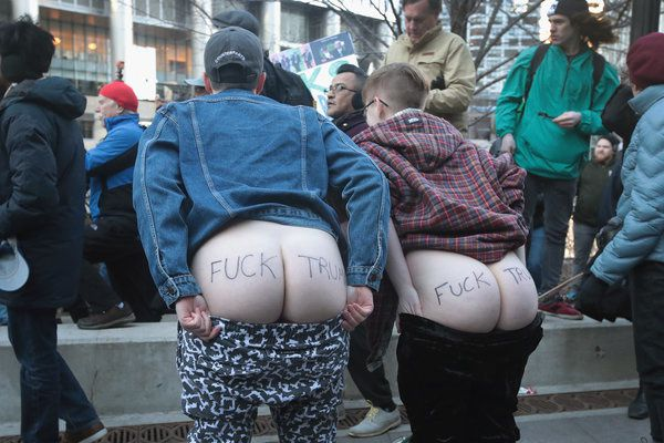 SHOW YOUR RUMP TO TRUMP BRITISH CAMPAIGN
