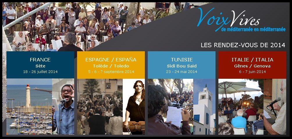 Voix vives de Méditerranée 2014