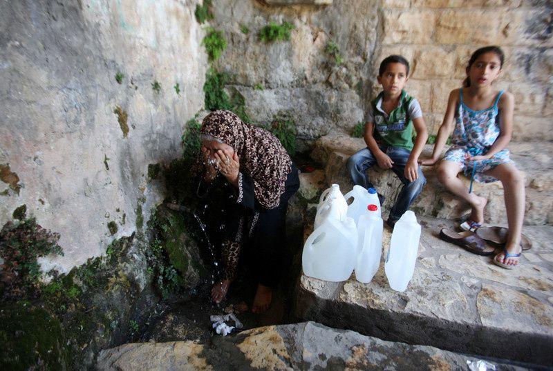 L'hydro-apartheid israélien...