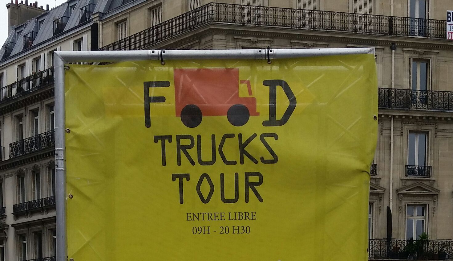 Le Food Truck Tour à Saint-Lazare