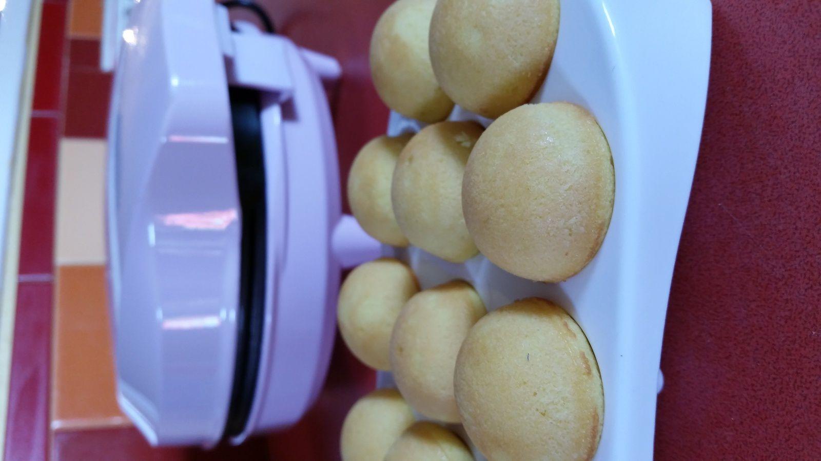 Cake pop : 1ère étape la pâte