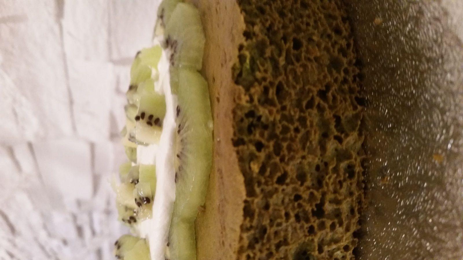 Angel Cake ou Chiffon Cake au thé Matcha