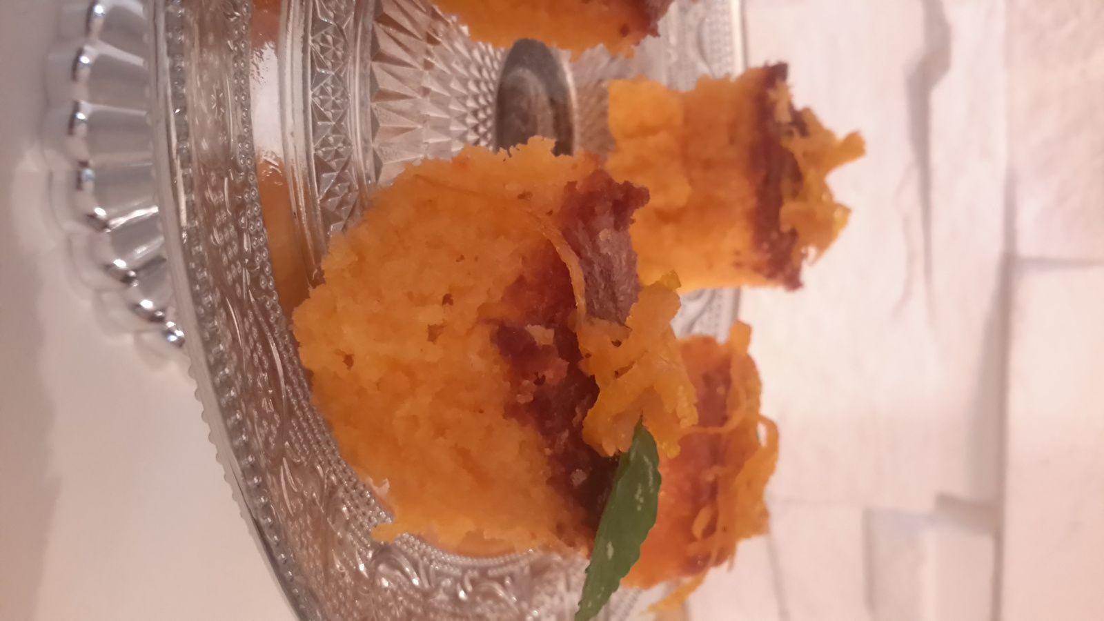 Gâteau humide aux oranges