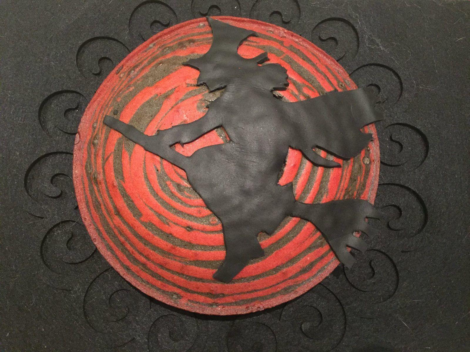 Le gâteau zébré d'Halloween ou Zebra Cake