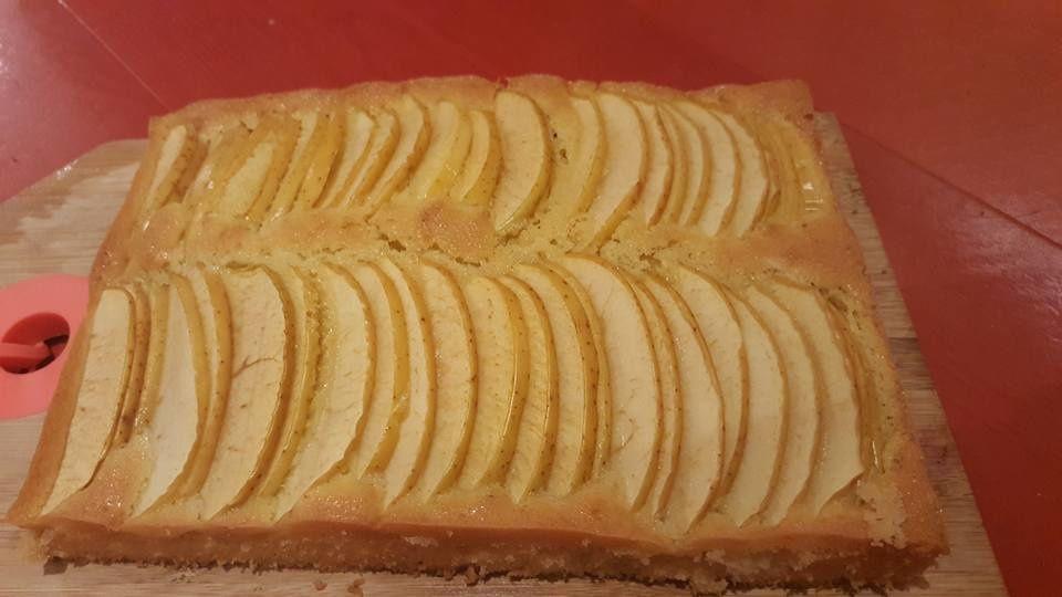 Biscuit madeleine aux pommes