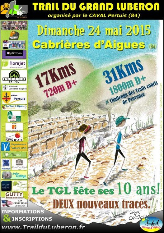 Trail du Grand Luberon : 31km/1600d+ (240515)