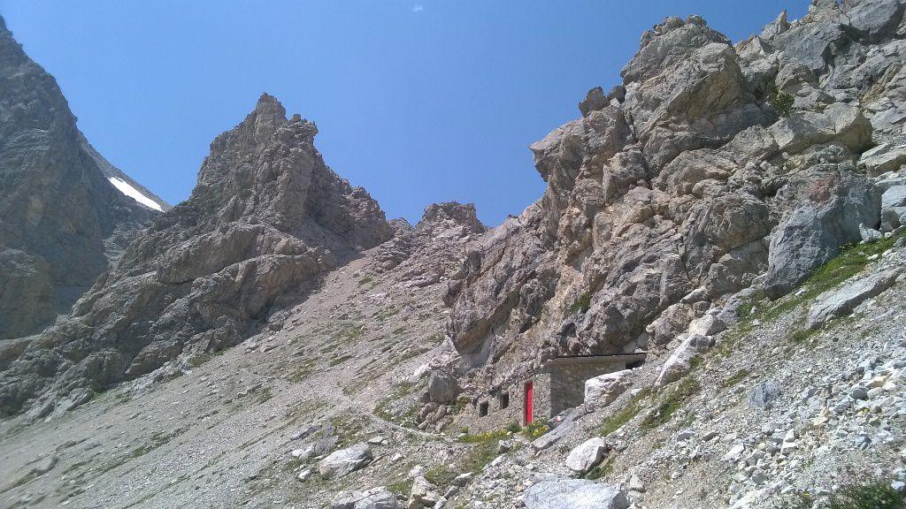 juste en dessous du Col Deserte 2550m (photo prise lors de ma reco)