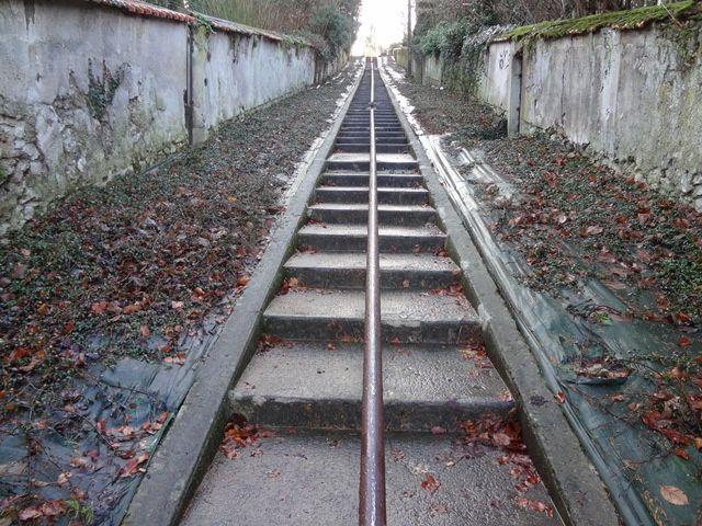 escaliers de la rue Parmentier : 100 marches sur 60m et 15d+