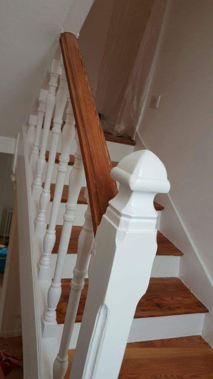 r novation un escalier bois a st germain en laye 78 peinture vallee. Black Bedroom Furniture Sets. Home Design Ideas