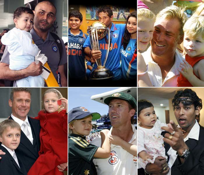 Very Beautiful and Cute Kids -  Cricket Stars