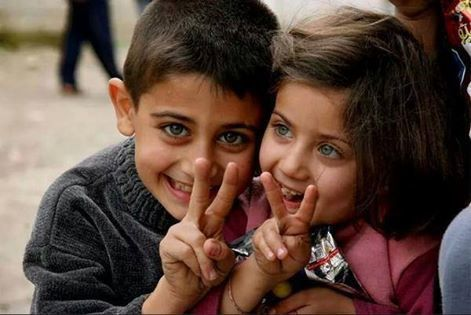 Very Beautiful and Cute Kids - Victory