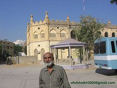 Altaf Shaikh at Model School (Ex Sindh Univers...