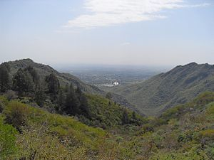 English: This is the picture of the Margalla H...