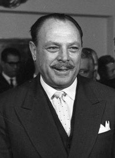 Ayub Khan, President of Pakistan from 1958 to ...