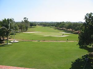 Karachi Golf Club one of the largest Golf club...