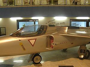 English: A Folland Gnat fighter of the Indian ...