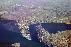 The Karachi Port is the largest port in the co...