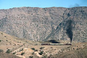 English: The Khyber Railway. With a Pakistan R...