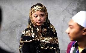 Chinese Uyghur Muslim